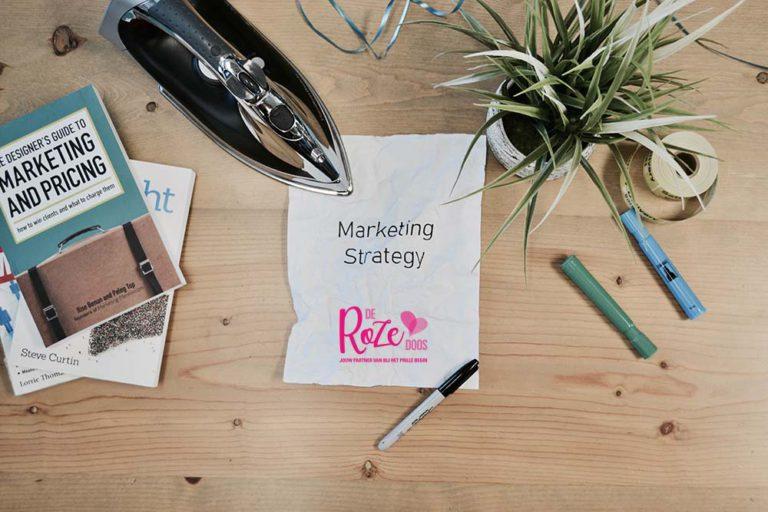 marketingplan roze doos
